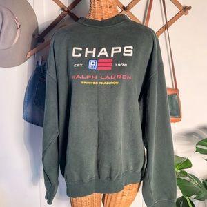 1990's Oversized Ralph Lauren Chaps Sweatshirt